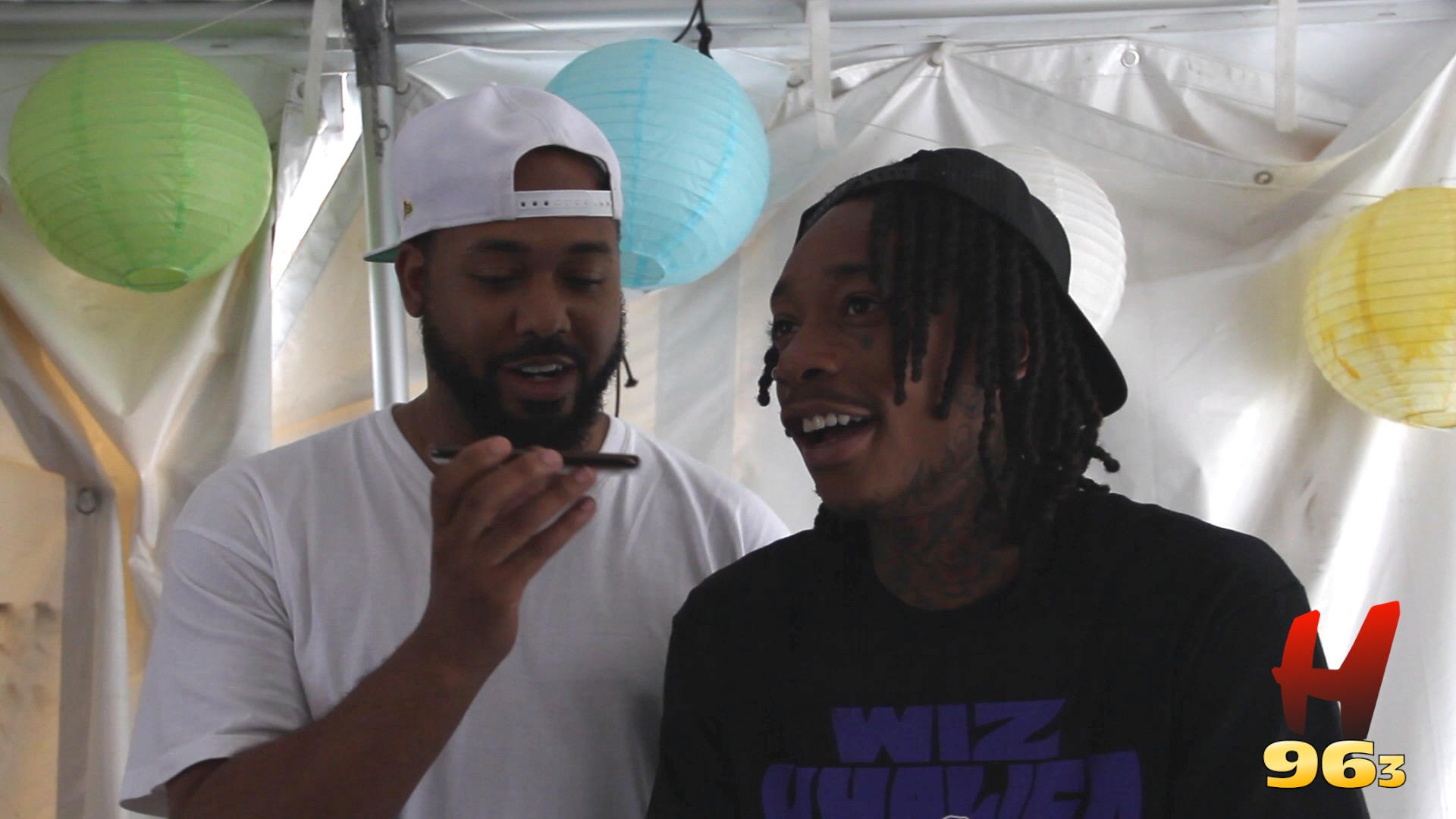 Wiz Khalifa Interview - Hot 96.3