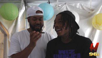 Wiz Khalifa Interview - Hot 96.3