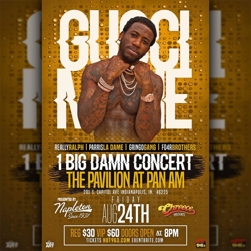 $20 Tickets Now Available For Gucci Mane At The Pavilion | Hot 96 3