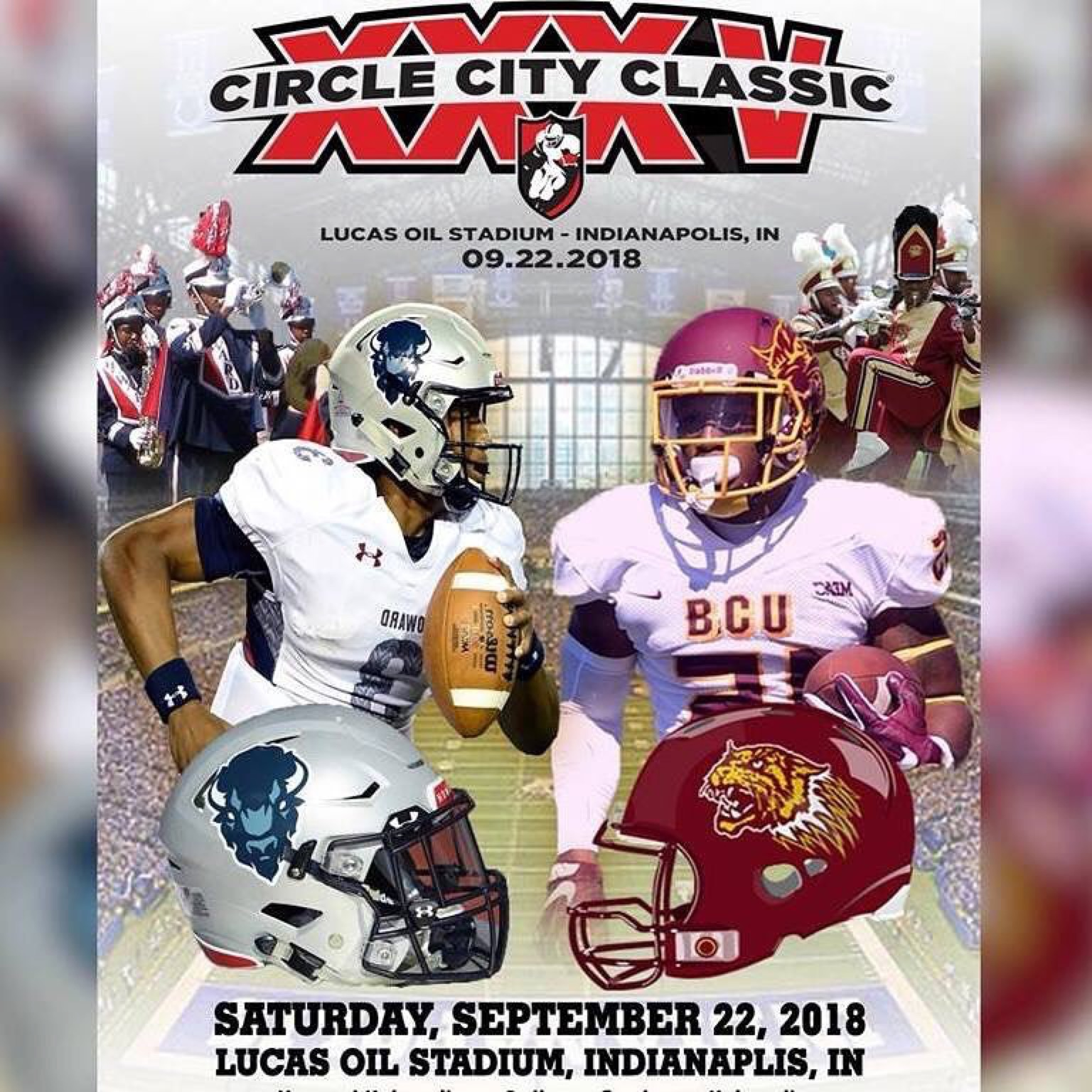 2018 Circle City Classic Flyer