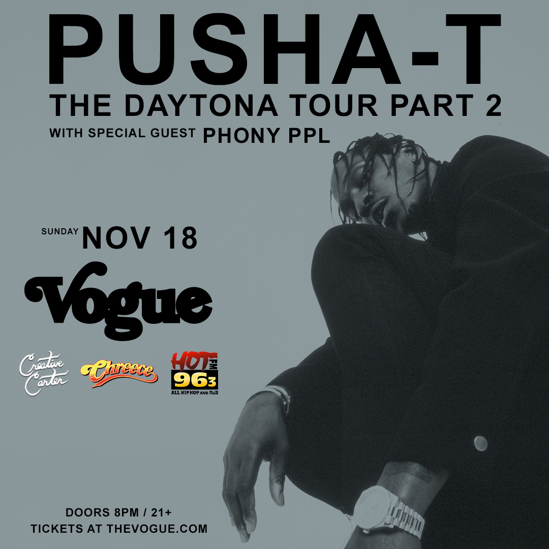 Pusha T Indy Flyer
