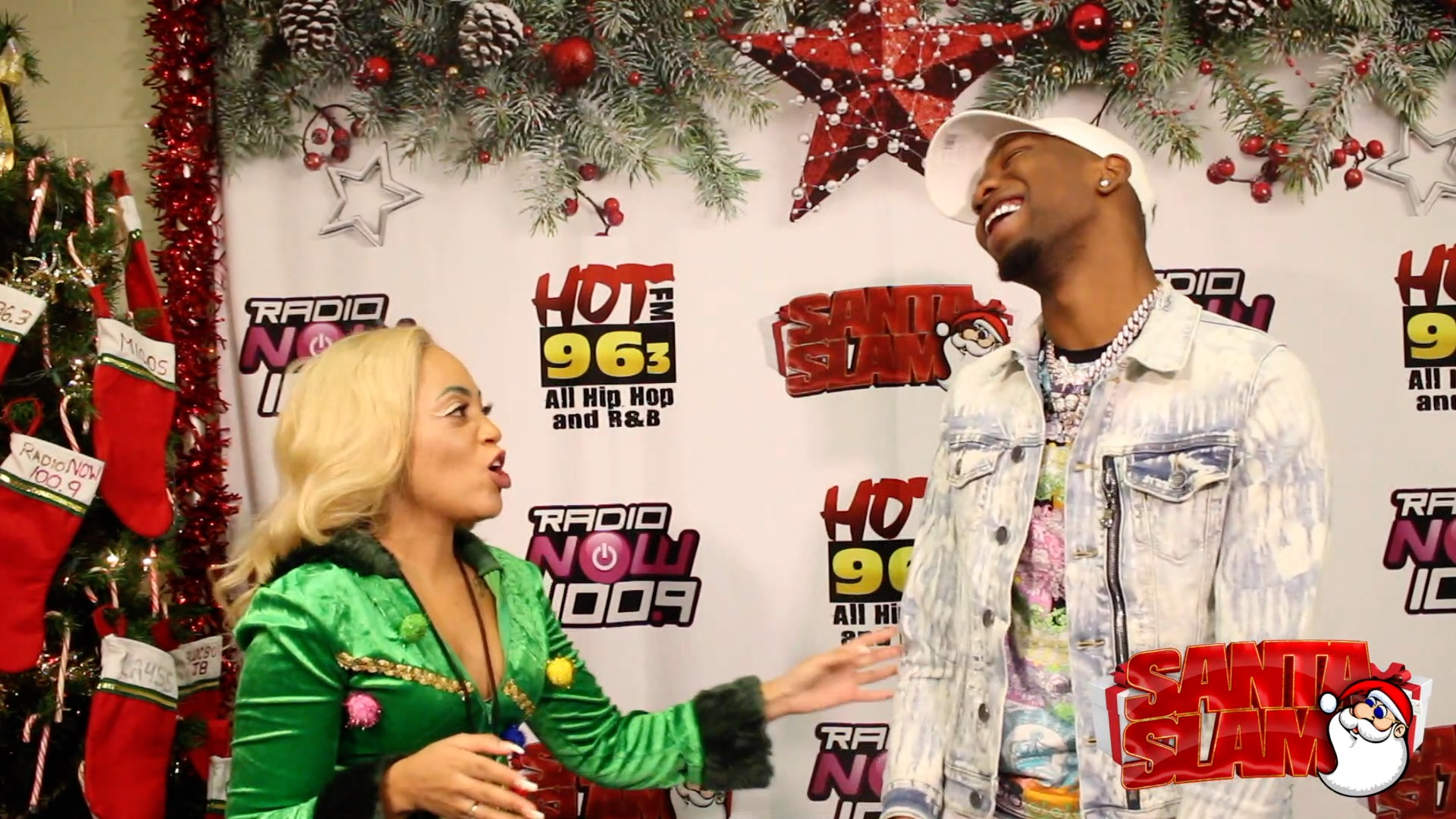 BlocBoy JB - Santa Slam Interview