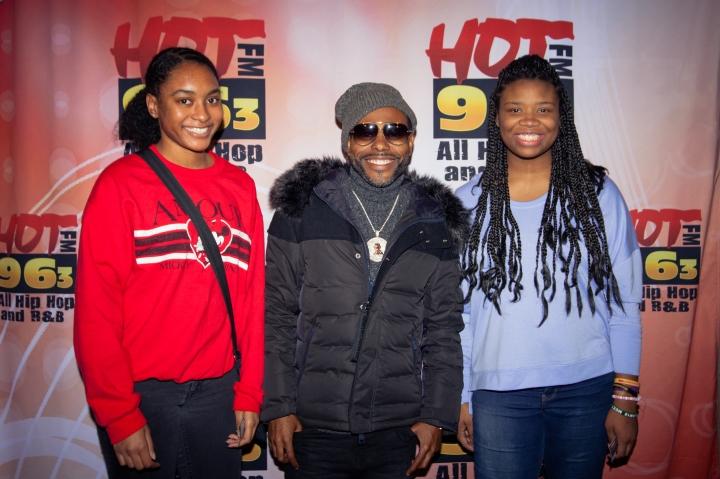 Lil Duval M&G - Santa Slam 2018