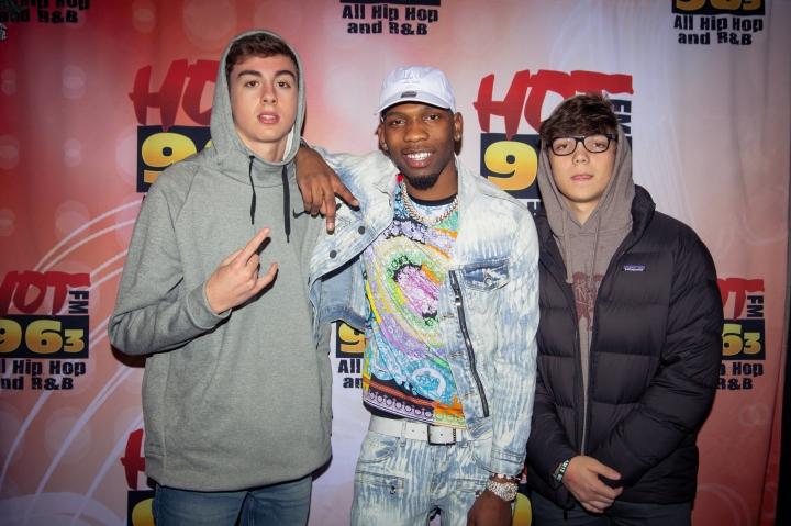 BlocBoy JB M&G - Santa Slam 2018