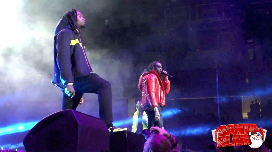 Migos Perform at Santa Slam 2018