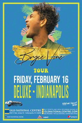 BRYCE VINE Concert Flyer