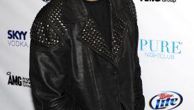 Chris Brown Celebrates His 22nd Birthday At Pure Nightclub