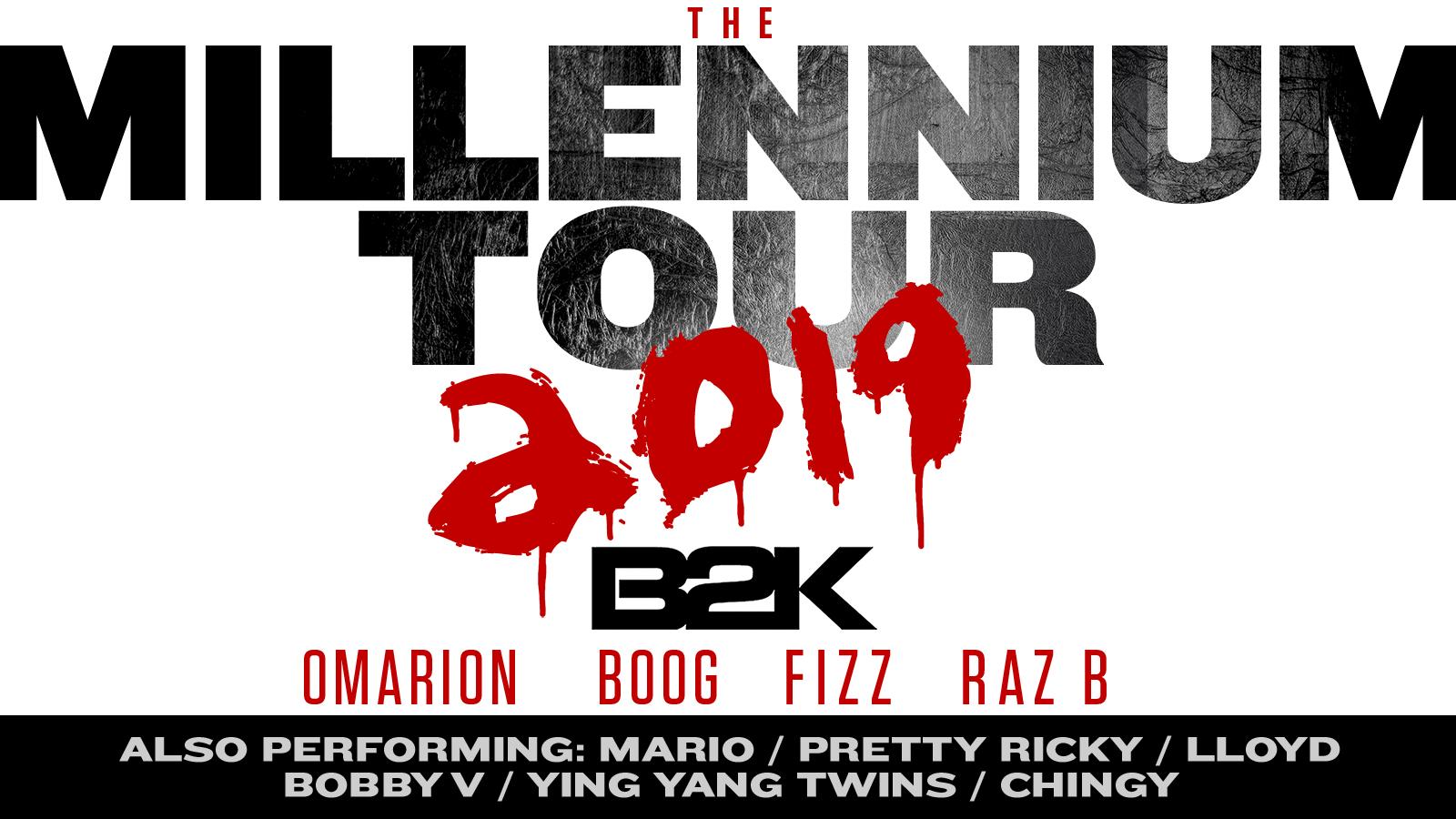 B2K Millennium Tour Graphic