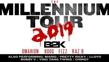B2K Millennium Tour Graphic