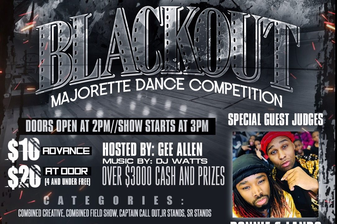 Blackout Dance Competition Flyer