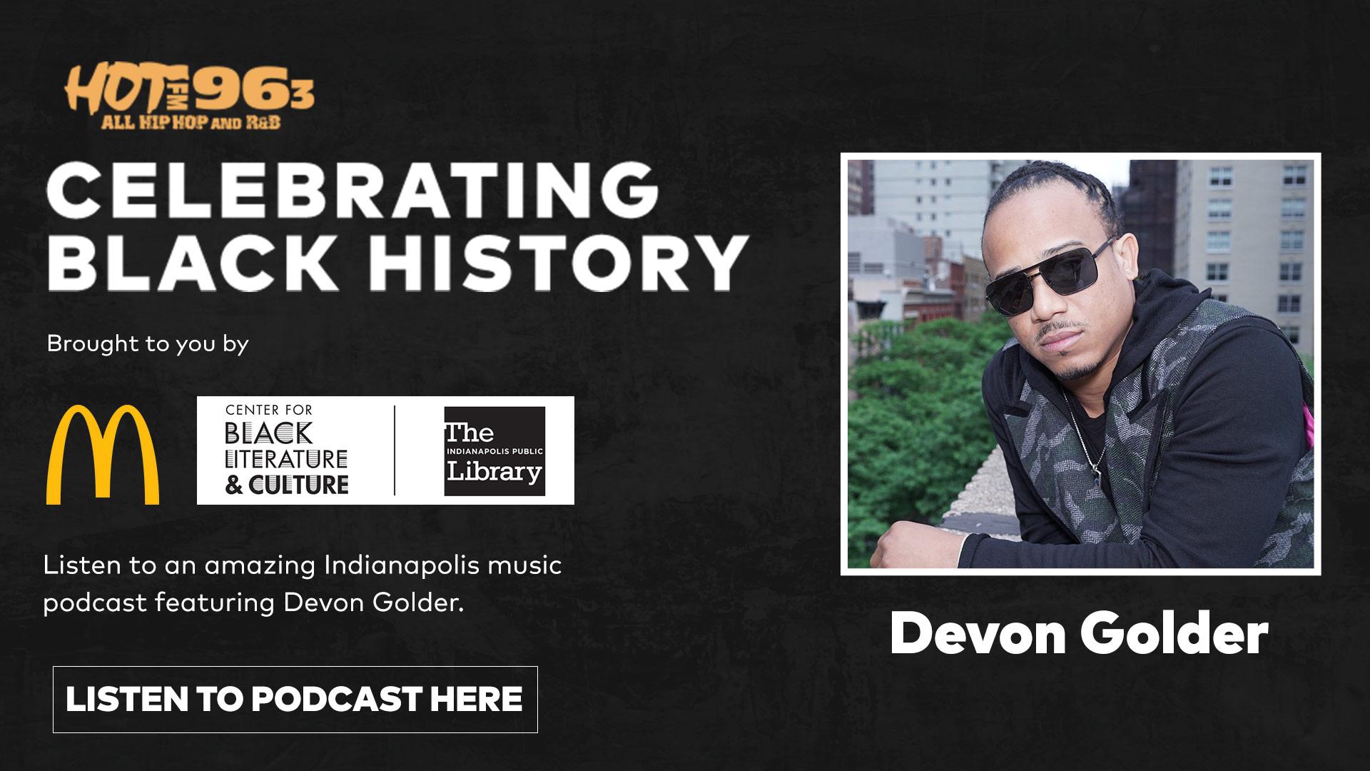 McDonald's Black History Month Podcast: Devon Golder
