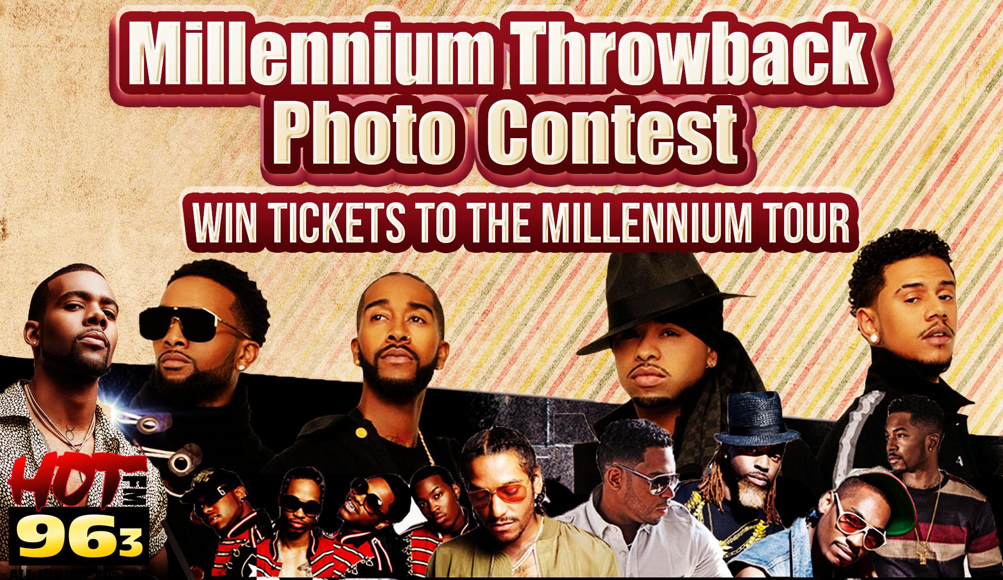Millennium Throwback Photo Contest Graphic