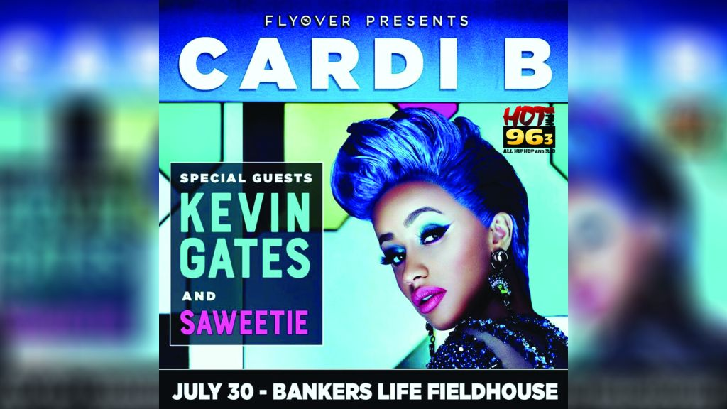 Cardi B Is Coming To Bankers Life Fieldhouse This Summer Hot 96 3