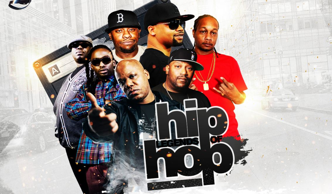 Legends of Hip Hop Indy Graphic
