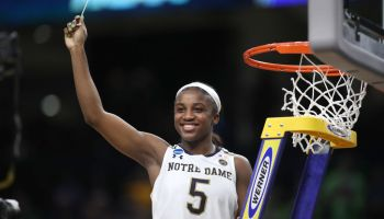 NCAA BASKETBALL: APR 01 Div I Women's Championship - Quarterfinals - Notre Dame v Stanford