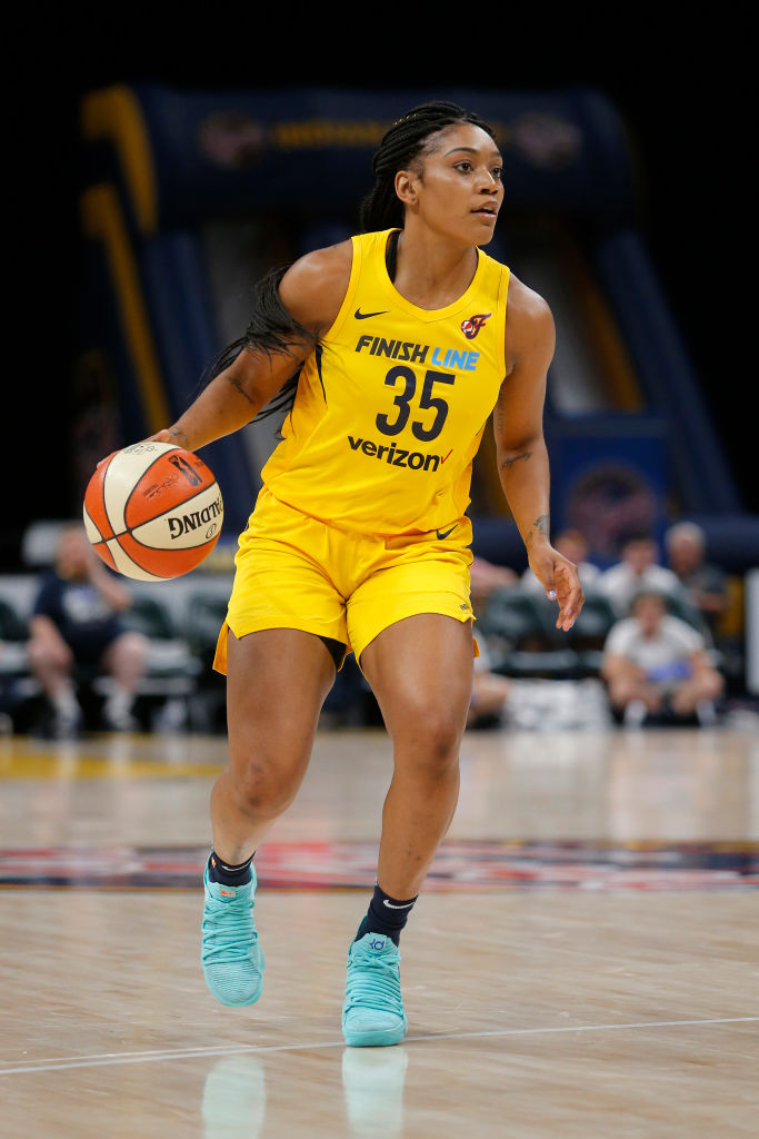 WNBA: JUN 08 Dallas Wings at Indiana Fever