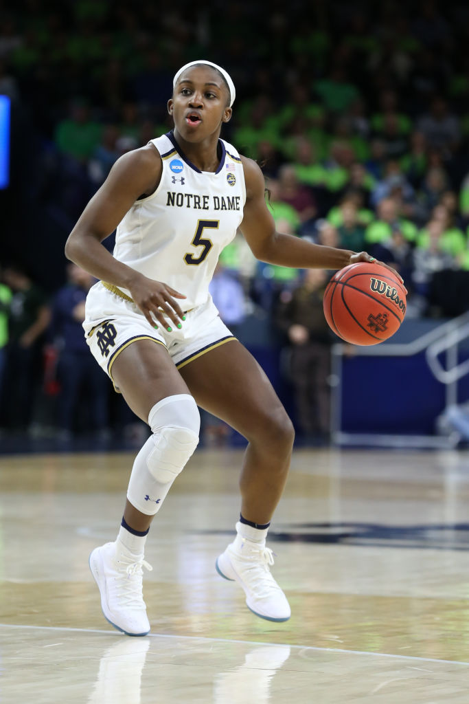NCAA BASKETBALL: MAR 25 Div I Women's Championship - Second Round - Michigan State v Notre Dame