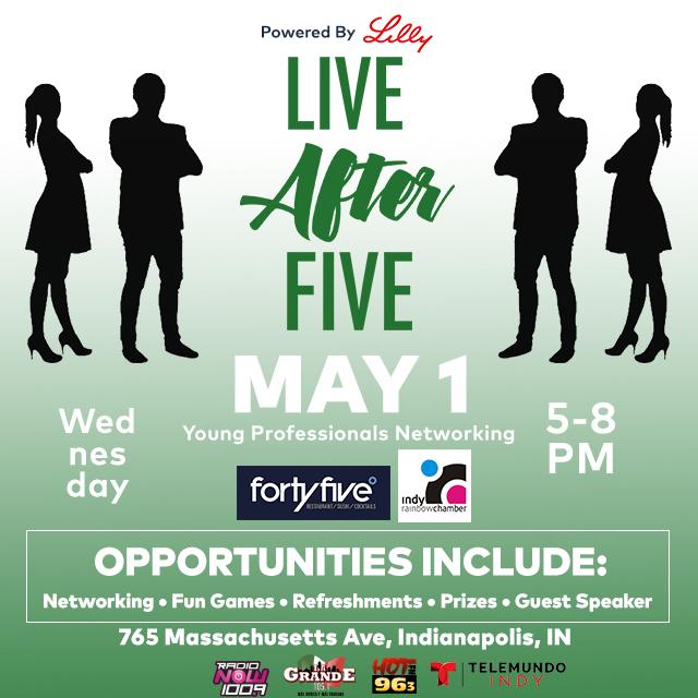 Live After Five @ FortyFive Degrees flyer