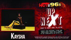 Up Next: Indy's Next One To Blow: Kaysha