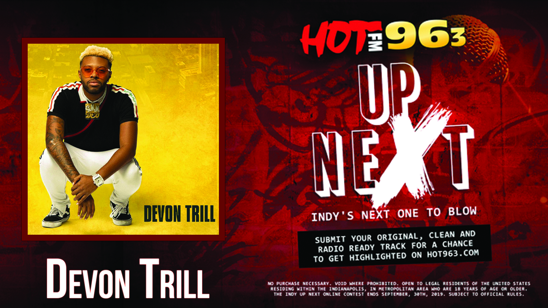 Up Next: Indy's Next One To Blow: Devon Trill
