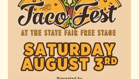 Taco Fest Flyer 2019