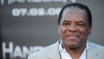 Actor John Witherspoon arrives on the re