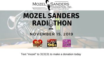 Mozel Sanders Radiothon