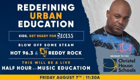 Recess August 7th with DJ Reddy Rock