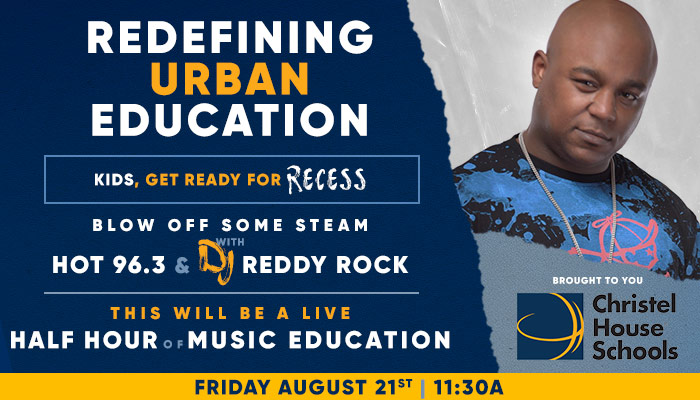 Recess 8/21 with DJ Reddy Rock